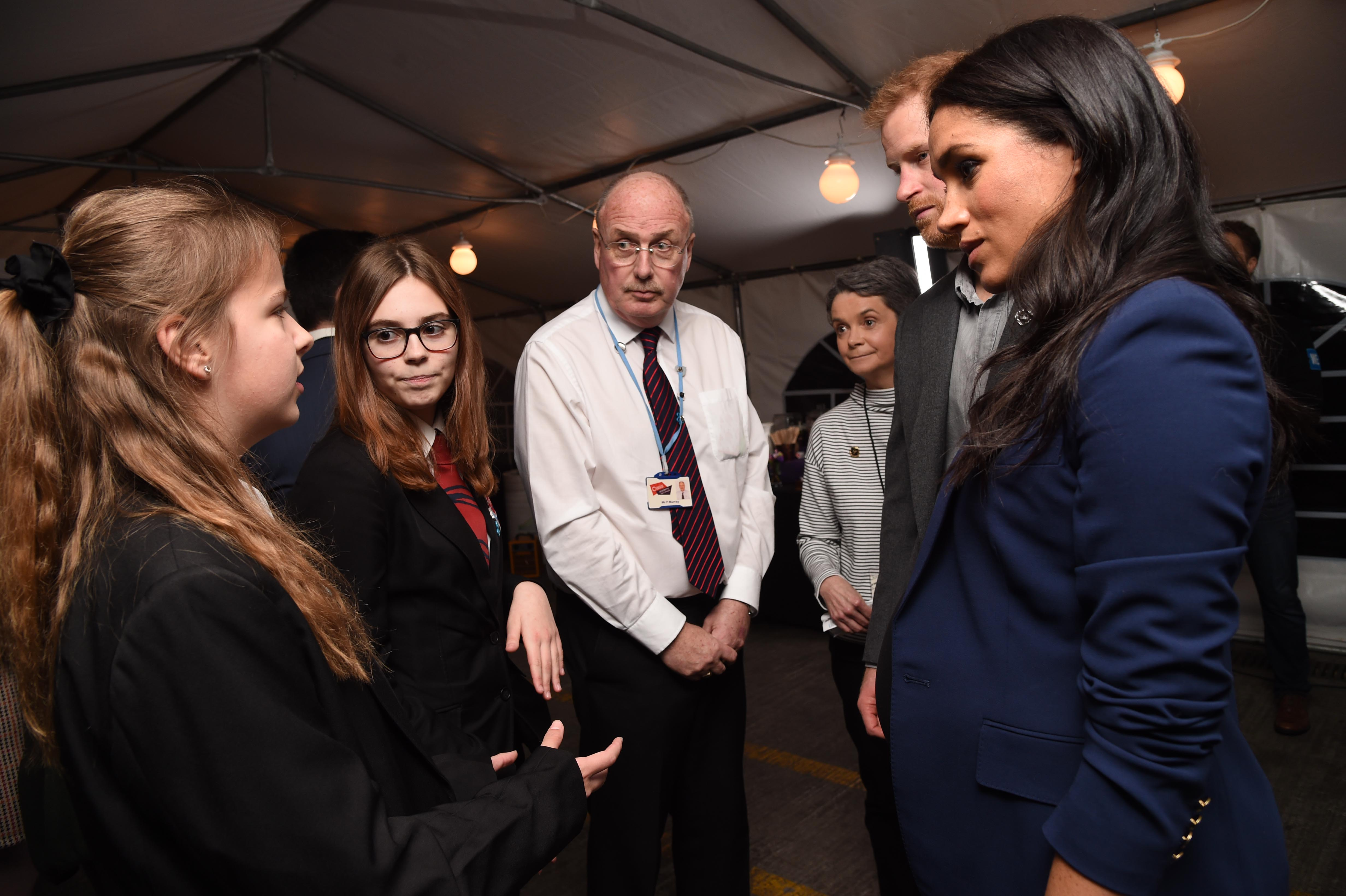 'Exciting' as students meet royals after WE Day Concert in Wembley